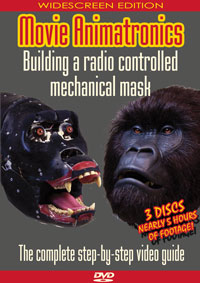 Radio controlled mechanical mask video tutorial DVD